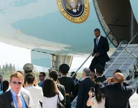Xôn xao chuyện Trung Quốc không trải thảm đỏ đón Tổng thống Obama tới dự G20