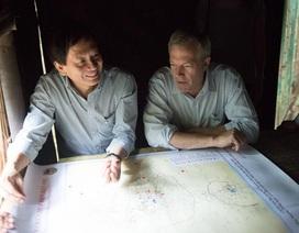 Đại sứ Mỹ Osius thăm tỉnh Điện Biên cùng con trai Đại tướng Võ Nguyên Giáp