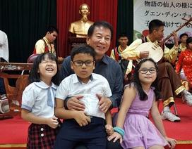 Đại sứ đặc biệt Việt - Nhật thăm trẻ em khuyết tật
