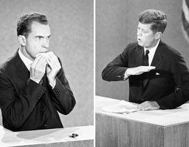 """Cuộc """"đấu khẩu"""" lịch sử Kennedy - Nixon trên truyền hình Mỹ"""