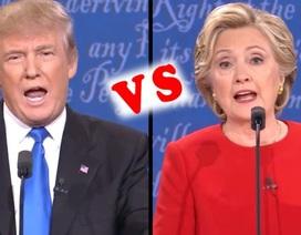 Cuộc tranh luận Clinton - Trump phá kỷ lục về số người xem