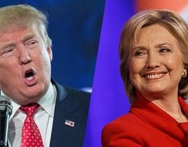 """Màn hình ngăn đôi """"tố cáo"""" sự mất bĩnh tĩnh của Trump trong tranh luận trực tiếp"""
