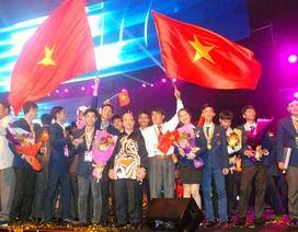 Kỳ thi tay nghề Asean lần thứ 11: Đoàn Việt Nam xếp hạng 3 chung cuộc