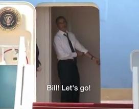 Ông Obama kiên nhẫn gọi Bill Clinton lên chuyên cơ