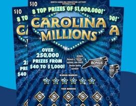 Bất ngờ trúng nửa triệu đô nhờ mua vé cào để dạy chồng thôi cờ bạc