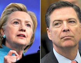 """Giám đốc FBI công khai """"ngáng đường"""" Hillary Clinton như thế nào?"""