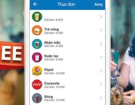 Quản lý hàng quán ăn uống bằng ứng dụng miễn phí trên di động