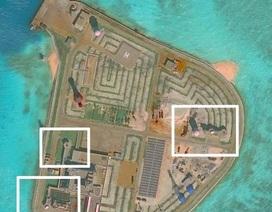 """Trung Quốc bị """"tố"""" lắp hệ thống vũ khí trên 7 đảo nhân tạo phi pháp ở Trường Sa"""
