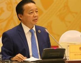 """Bộ trưởng Trần Hồng Hà: """"Tôi phải nhận trách nhiệm nặng nề khi vừa nhận chức 2 tuần"""""""