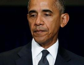 Tổng thống Mỹ rút ngắn chuyến công du sau vụ nổ súng ở Dallas