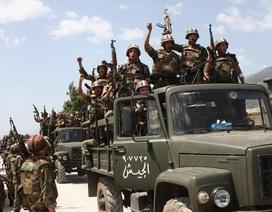 Quân đội Syria tiến vào giải phóng thủ đô trên thực tế của IS