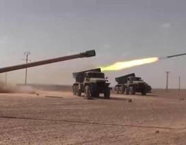 Huyền thoại Cachiusa khai hỏa tấn công IS ở phía tây Raqqa