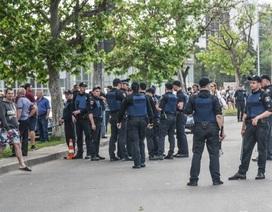 Hình ảnh hỗn loạn ở Làng Sen Odessa sau khi bị lục soát