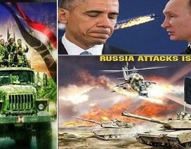 Nga-Syria đẩy mạnh chiến lược đánh mạnh để đàm phán