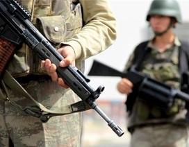 Quân đội Thổ Nhĩ Kỳ lại đấu súng dữ dội với lực lượng PKK