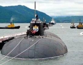 Thi bắn tên lửa hành trình, tàu hạt nhân Tomsk lên ngôi
