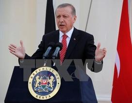 """Vì sao Thổ Nhĩ Kỳ """"xuống nước"""" trước Putin?"""
