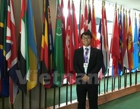 Du học sinh Việt Nam dự Diễn đàn Thanh niên toàn cầu tại Mỹ