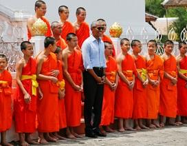 Những khoảnh khắc giản dị của Tổng thống Obama trong chuyến thăm Lào lịch sử