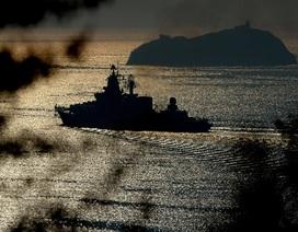 Hơn 60 tàu ngầm, tàu chiến Nga đón năm mới trên biển