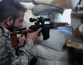 Máy bay Nga, quân đội Syria ngăn quân chi viện khủng bố dồn tới Aleppo