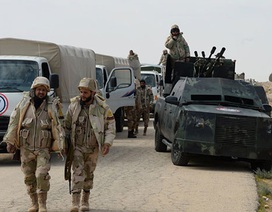 """Dân quân """"Đại bàng sa mạc"""" Syria sẵn sàng giành lấy Palmyra từ tay IS"""