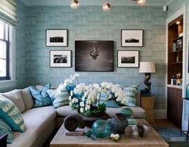 Căn nhà đắt tiền hơn nhờ giấy dán tường