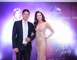 Bình Minh sánh đôi cùng Hoa hậu Kim Nguyễn