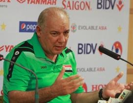 HLV đội tuyển Iraq bất ngờ từ chức
