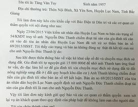 Chuyện lạ: Bị hại đồng loạt viết đơn kêu oan cho bị cáo tại Bắc Giang