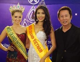 Vừa đăng quang, Tân hoa hậu hòa bình thế giới đã có mặt tại Việt Nam