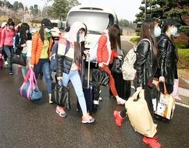 Nhóm người làm việc ở nhà hàng Triều Tiên định cư tại Hàn Quốc