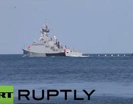 Nga điều tàu chiến tên lửa tối tân đến gần Syria