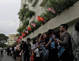 """Sáng nay, Tổng thống Obama trò chuyện với 800 """"thủ lĩnh"""" trẻ Việt Nam"""