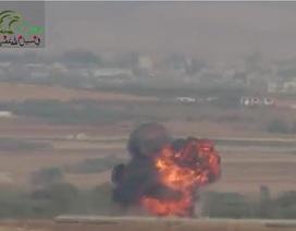 Phe nổi dậy Syria bắn rơi một trực thăng tại Hama