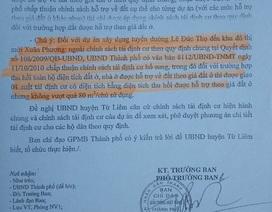 """Hà Nội: Công dân khiếu nại chế bộ bồi thường GPMB """"tiền hậu bất nhất"""""""