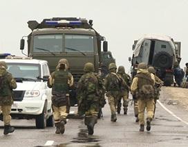 Hiện trường đoàn xe Bộ Nội vụ Nga bị IS khủng bố