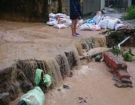 """Lượng bùn đất khổng lồ từ dự án của FLC lại """"bao trùm"""" khu dân cư"""