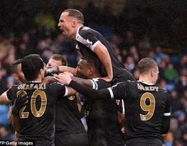 Đè bẹp Man City, Leicester xây chắc ngôi đầu bảng