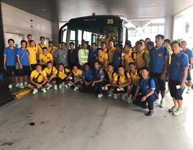 """Đội tuyển Việt Nam bị """"hành xác"""" trước trận đối đầu với Indonesia"""