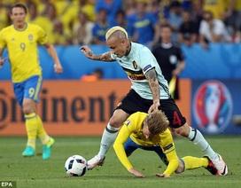 Thụy Điển 0-1 Bỉ: Vận may của Nainggolan