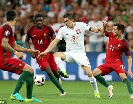 Video clip tổng hợp bàn thắng và tình huống trong trận Ba Lan - Bồ Đào Nha