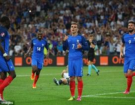 Đức 0-2 Pháp: Đêm may mắn của Griezmann