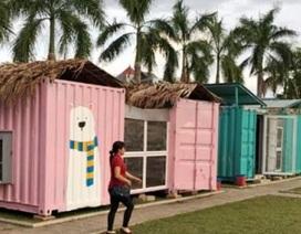 """""""Hô biến"""" container thành nhà ở bán trú cho trò nghèo miền núi"""