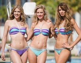 Ngắm thí sinh Hoa hậu hòa bình thế giới 2016 nóng bỏng với vũ điệu bikini