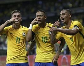 Brazil 3-0 Argentina: Neymar chói sáng