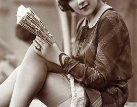 Vẻ đẹp phụ nữ 100 năm trước qua những tấm hình vintage