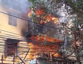 Hà Nội: Cháy lớn tại khu tập thể Viện Năng Lượng