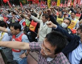 Ngày 1/5: Hàng chục nghìn người Nhật biểu tình đòi tăng lương