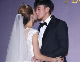 """Hôn lễ tràn ngập những nụ hôn của """"Lương Sơn Bá"""" Hà Nhuận Đông"""